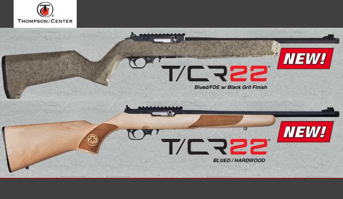 новые винтовки Thompson Center T/CR22