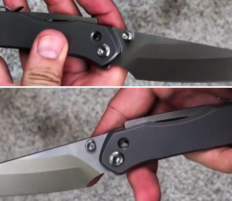 Второе поколение ножевого замка Superlock V2