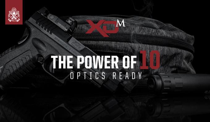 Пистолет Springfield Armory XD-M OSP 10 mm