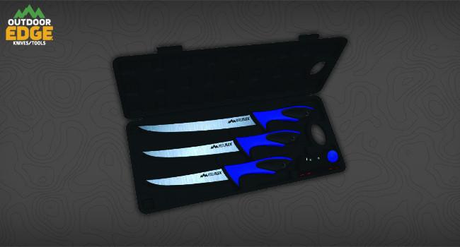 Набор филейных ножей Outdoor Edge ReelFlex Pak