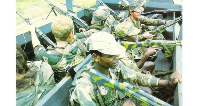 фото отряда с Войны в Южной Родезии