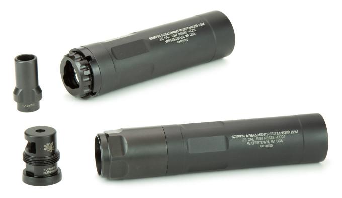 Модульный глушитель Griffin Armament Resistance 22 M