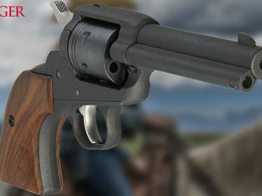 Револьвер Ruger Wrangler TALO Cobalt