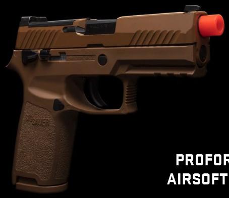 Старт продаж страйкбольного пистолета Sig Sauer ProForce M18