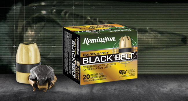 Пули Remington Golden Saber Black Belt