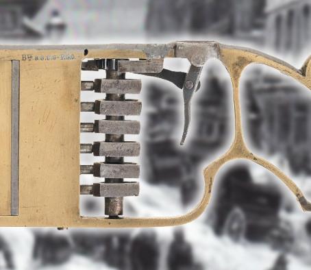 Пистолет Bayle 1879