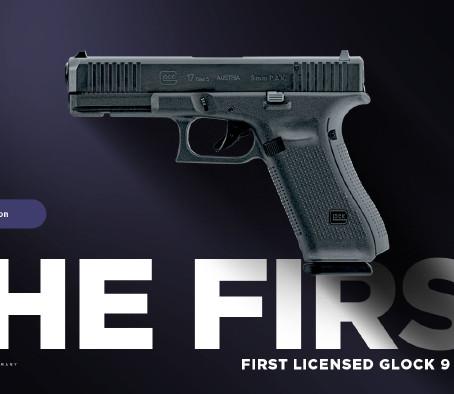 Холостой пистолет Umarex Glock 17 Gen5 First Edition