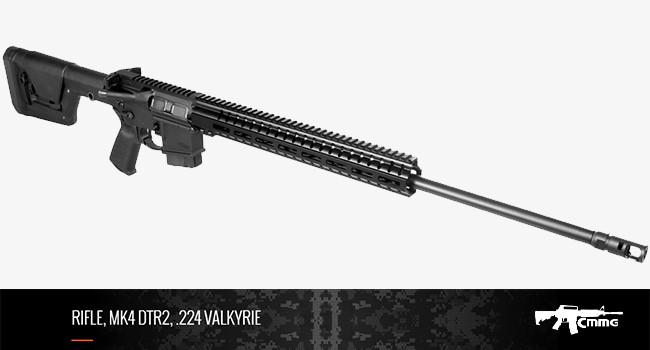 Винтовка CMMG Mk4 DTR2 в калибре .224 Valkyrie