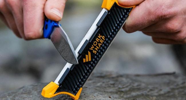 сторона для доводки Work Sharp Pocket Knife Sharpener