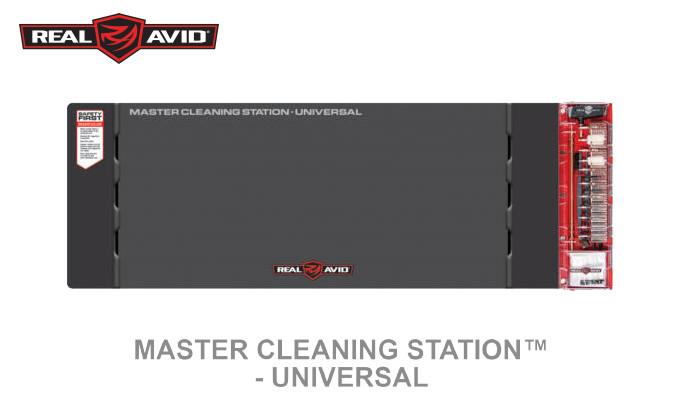 Набор обслуживания оружия Real Avid Master Cleaning Station Universal