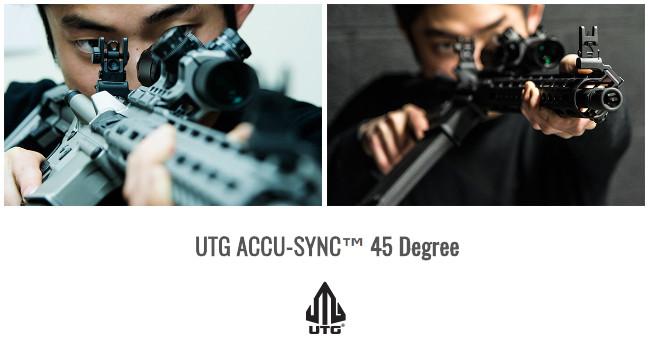 Механический прицел с наклоном UTG ACCU-SYNC 45