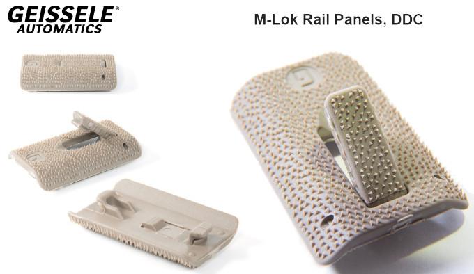 Противоскользящие панели Geissele M-Lok Rail Panel