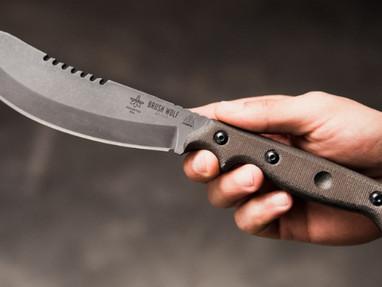 Нож TOPS Brush Wolf