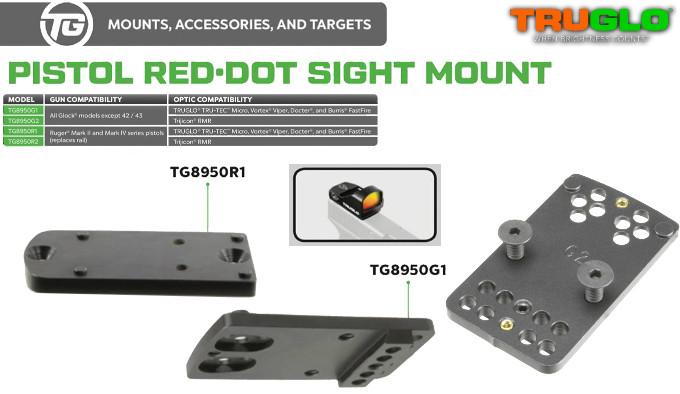 Крепежная платформа TRUGLO Pistol Red Dot Sight Mount