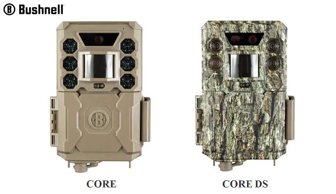 Охотничьи камеры Bushnell CORE и CORE DS