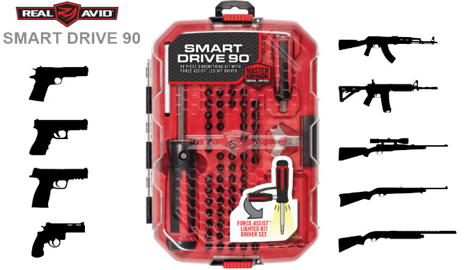 Оружейный набор инструментов Real Avid Smart Drive 90
