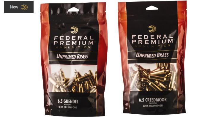 Гильзы Federal 6.5 Grendel и 6.5 Creedmoor