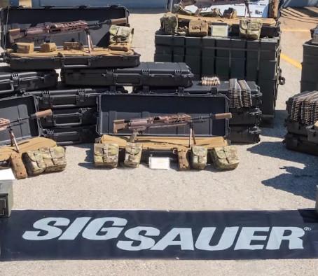 Первые поставки оружия Sig Sauer по программе NGSW
