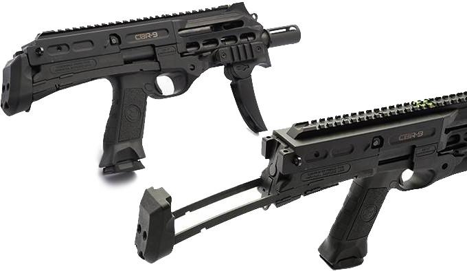 Пистолетный карабин Chiappa Black Rhino CBR9