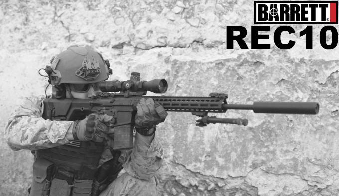 карабин формата AR в калибре .308 Winchester с серым покрытием Cerakote
