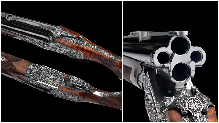 Четырёхствольное ружье Fanzoj Vierling