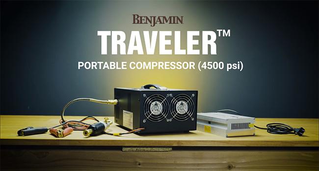 Портативный компрессор для пневматики Benjamin Traveler