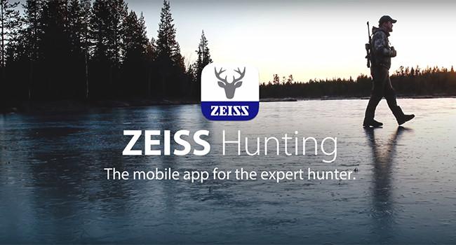приложение ZEISS Hunting App