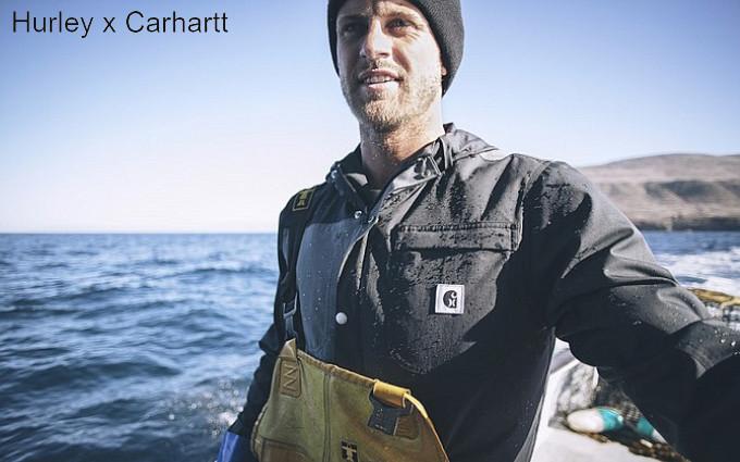 Запуск совместной линейки одежды Hurley x Carhartt