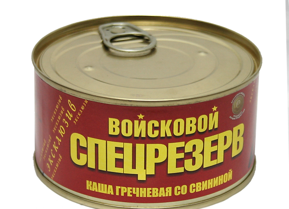 Каша гречневая со свининой