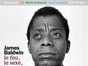 JAMES BALDWIN fait la couv' de  l'édition Juillet/Août du magazine littéraire LE MATRICULES