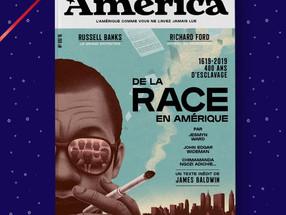 """REVUE AMERICA n°8 """"De la race en Amérique"""" avec un essai inédit de James Baldwin"""