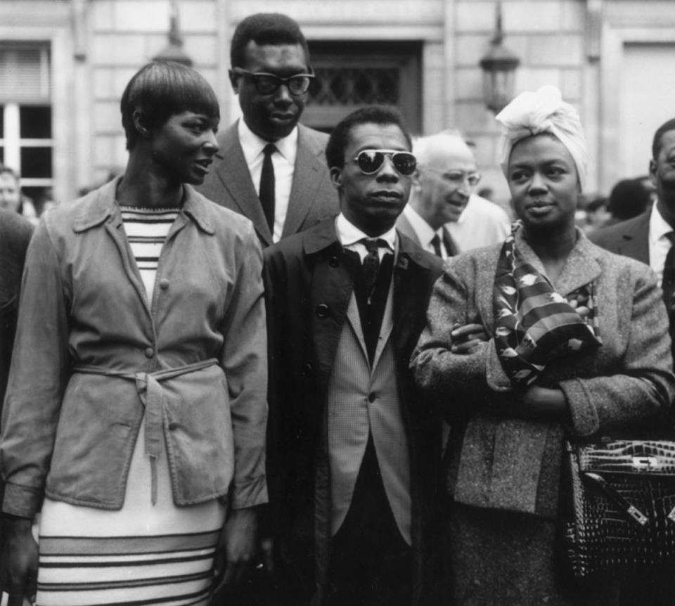 James Baldwin Paris 1963