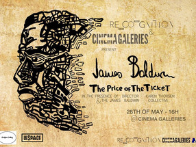 """UNE PROJECTION/DÉBAT EXCLUSIVE DU DOC """"JAMES BALDWIN - THE PRICE OF THE TICKET"""" A BRUXELLE"""