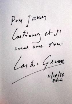 Message de Coste-Gavras