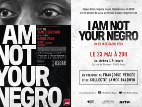 le mardi 23 mai Séance-débat  au cinéma L'Arlequin en présence de Samuel Légitimus et l'hist