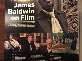 """""""THE DEVIL FIND WORK: JAMES BALDWIN ON FILM"""" - 4 JOURS   CONSACRÉS AUX RELATIONS DE JAMES"""