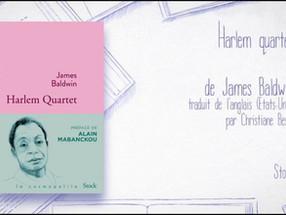 Mardi 13 octobre - Podcast en public: HARLEM QUARTET de James Baldwin