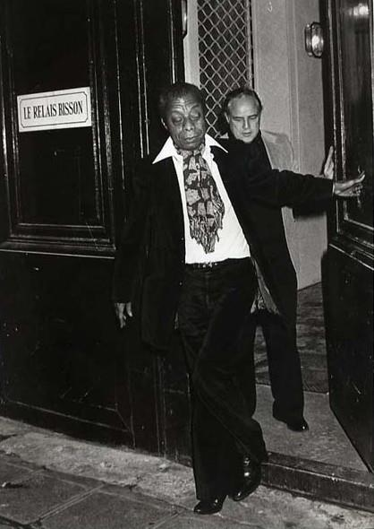 James Baldwin et Marlon Brando