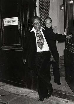 James Baldwin et Marlon Brando