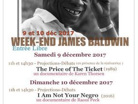 PROJECTIONS SUPPLÉMENTAIRES POUR LE WEEK-END JAMES BALDWIN AU MUSÉE DE L'HOMME