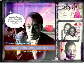 Bon 94e Anniversaire Jimmy Baldwin!!