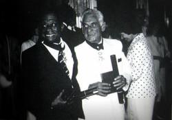 Jimmy & Leonard Bernstein à L'Elysée