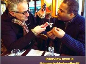 INTERVIEW EXPRESS SUR JAMES BALDWIN (FRANCE INTER)