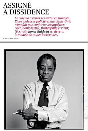 TÉLÉRAMA s'offre un long portrait de Baldwin !!
