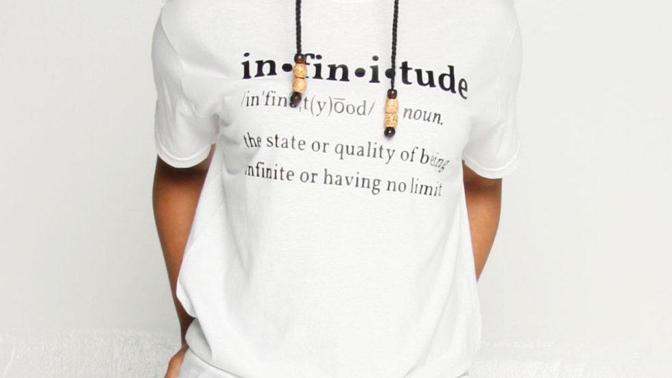 Infinitude Definition Tee (White)