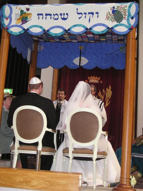 Singing at a wedding at LJG, Amsterdam