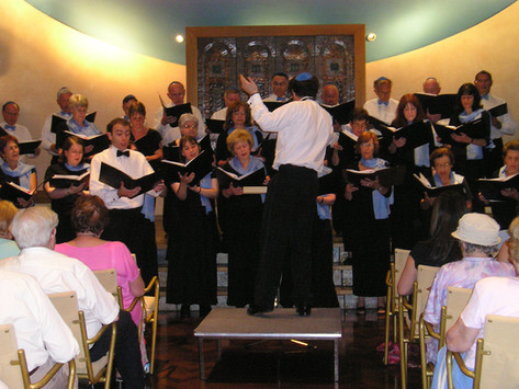Singing with the Zemel Choir