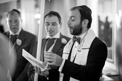 Singing at a wedding