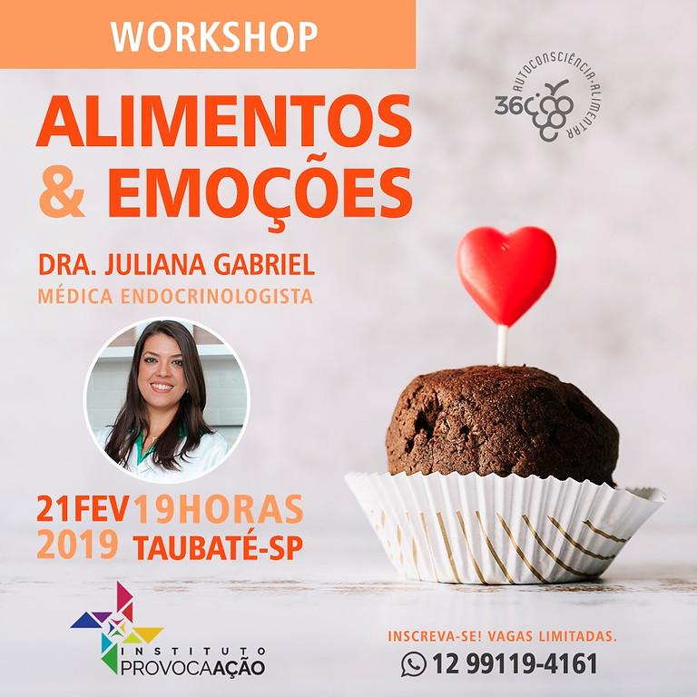 Workshop Alimentos & Emoçoes