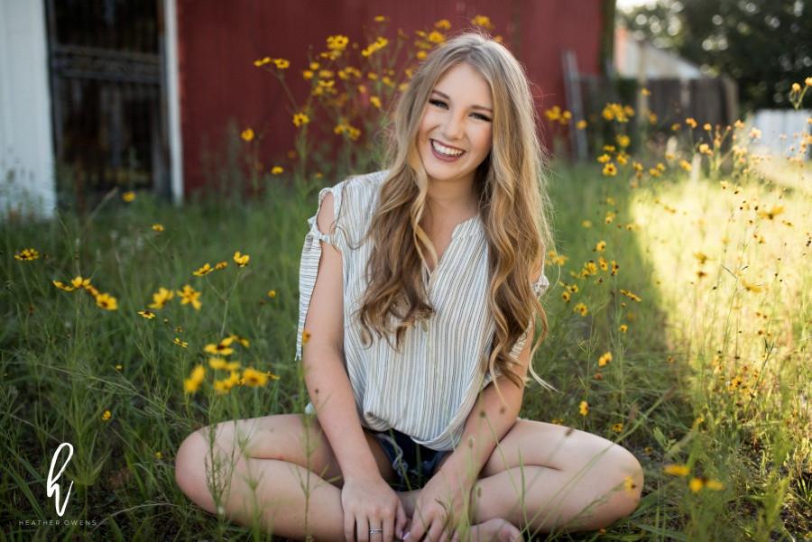 summer senior photo shoot